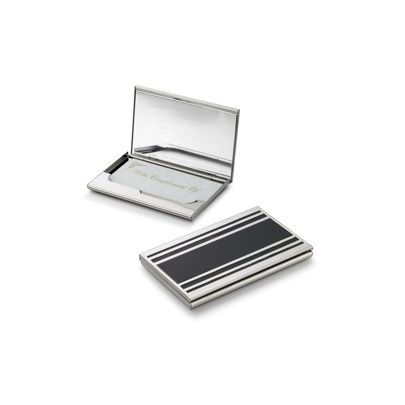 Ebalba.com: Cove Silver Plated Business Card Case For Ladies