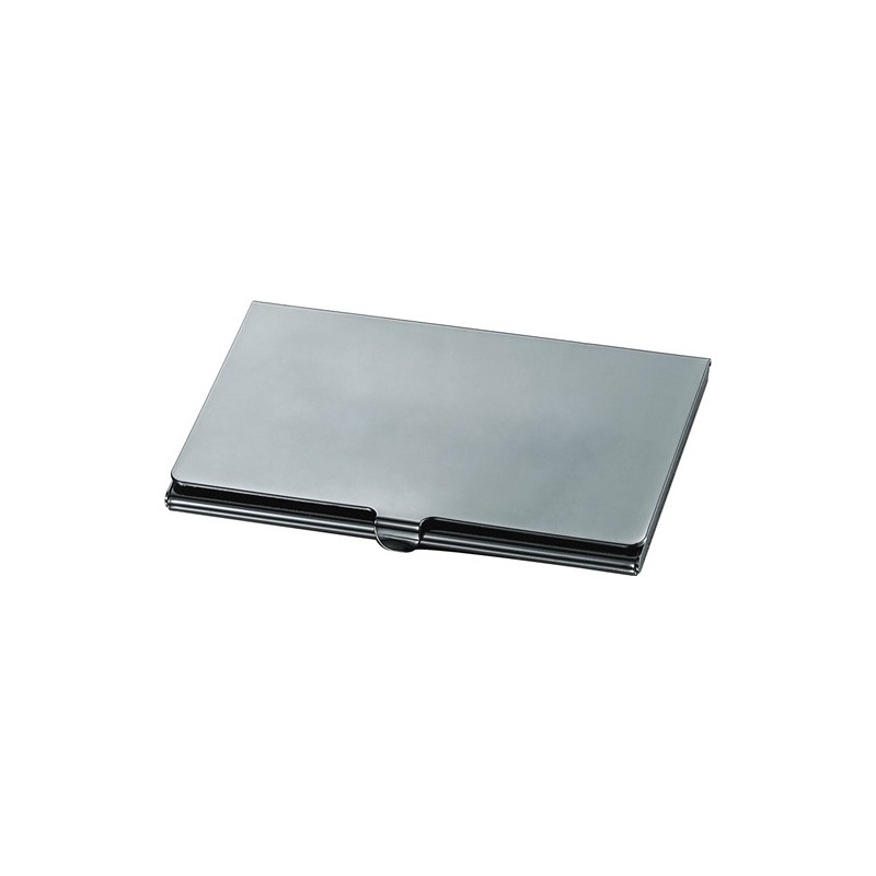 Ebalba.com: Elwood Gun Metal Business Card Case